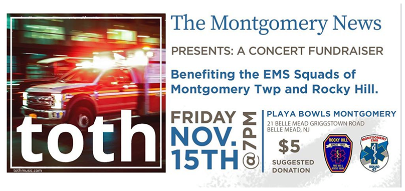 EMS Fundraiser Concert at Playa Bowls Montgomery